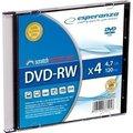 Obrázok pre výrobcu DVD-RW Esperanza [slim jewel case 1 | 4.7GB | 4x]