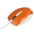 Obrázok pre výrobcu E-Blue Myš Dynamic, optická, 3tl., 1 koliesko, drôtová (USB), oranžová, 1480dpi