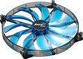 Obrázok pre výrobcu AEROCOOL SILENT MASTER BLUE LED ventilátor 200x200x20mm