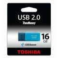 Obrázok pre výrobcu 16GB USB kľúč TOSHIBA - HAYABUSA light blue