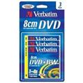 Obrázok pre výrobcu Verbatim DVD+RW (3-Pack)8cm/BlisterPack/4x/30min./1.4GB