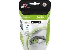 Obrázok pre výrobcu Ink. kazeta TB kompat. s Brother LC 1280XL C 100%N