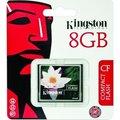 Obrázok pre výrobcu Kingston 8GB CompactFlash Card (CF)
