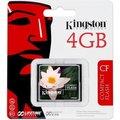 Obrázok pre výrobcu Kingston 4GB CompactFlash Card (CF)