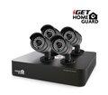 Obrázok pre výrobcu iGET HGDVK46704 - CCTV 4CH DVR + 4x HD kamera 720p
