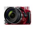 Obrázok pre výrobcu Nikon Coolpix B700 červený,20,3M,60xOZ,4K UHDVideo