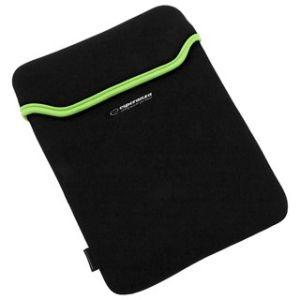 """Obrázok pre výrobcu Esperanza ET171G Puzdro pre tablet 7"""", 3mm neoprén, čierno-zelené"""