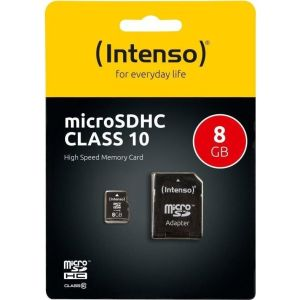 Obrázok pre výrobcu Intenso micro SD 8GB SDHC card class 10