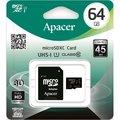 Obrázok pre výrobcu Apacer pamäťová karta Micro SDHC/SDXC 64GB Class 10 UHS-I