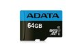 Obrázok pre výrobcu ADATA MicroSDXC 64GB UHS-I Class 10 85/25MB/s