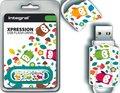 Obrázok pre výrobcu INTEGRAL Xpression 16GB USB 2.0 flashdisk, vzor sovy