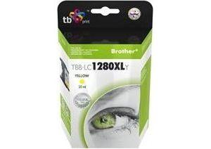 Obrázok pre výrobcu Ink. kazeta TB kompat. s Brother LC1280XL Y 100% N