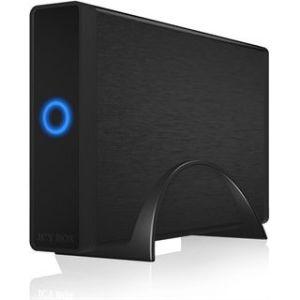 "Obrázok pre výrobcu Icy Box External 3,5"" HDD Case SATA III, USB 3.0, Black"