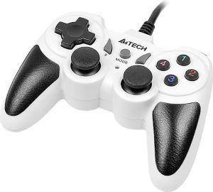 Obrázok pre výrobcu Gamepad A4Tech X7-T4 Snow USB/PS2/PS3