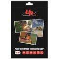 Obrázok pre výrobcu UPrint Glossy photopaper, foto papier, lesklý, biely, A4, 180 g/m2, 20 ks, atramentový