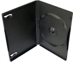 Obrázok pre výrobcu Box na 1 DVD, 14mm hrubý, čierny