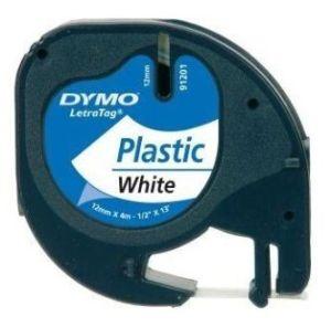 Obrázok pre výrobcu páska DYMO 59422 LetraTag White Plastic Tape (12mm)