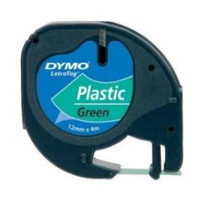Obrázok pre výrobcu páska DYMO 59425 LetraTag Green Plastic Tape (12mm)