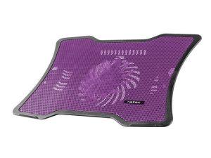 """Obrázok pre výrobcu NATEC laptop cooling pad MACAW Purple (12,1""""-15,6"""") silent fan with LED backli"""