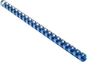 Obrázok pre výrobcu Plastový hřbet 10 mm, modrý