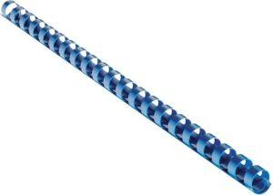 Obrázok pre výrobcu Plastový hřbet 8 mm, modrý