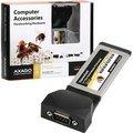 Obrázok pre výrobcu AXAGO ExpressCard/34 PCIe adapter 1x sériový port