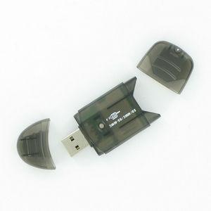 Obrázok pre výrobcu 4World prenosná čítečka pamäťových karet SD/MMC/T-FLASH USB 2.0 PenDrive