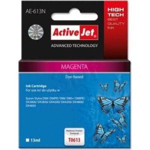 Obrázok pre výrobcu Atramentová náplň ActiveJet AE-613 magenta [ 13ml   chip   100% nový   Epson T06