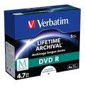 Obrázok pre výrobcu Verbatim M-Disc DVD R, 5-pack, GBGB, 4x, jewel box, pre archiváciu dát