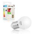 Obrázok pre výrobcu Whitenergy LED žiarovka |10xSMD2835| B45 | E27 | 5W | 230V | teplá biela| mlieko
