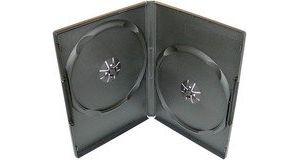 Obrázok pre výrobcu Box na 2 DVD, 9mm slim, čierny