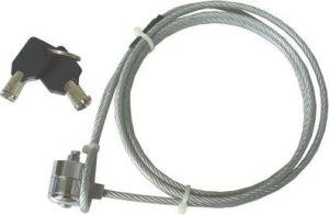 Obrázok pre výrobcu notebook security kábel so zámkom na kľúč