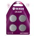 Obrázok pre výrobcu TESLA - baterie TESLA CR2430, 4ks, CR2430