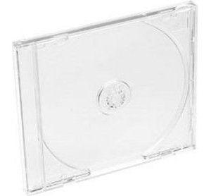 Obrázok pre výrobcu Box na 1CD, hrubý, priehľadný