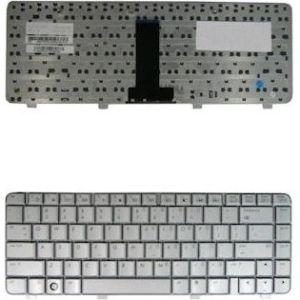 Obrázok pre výrobcu Qoltec Klávesnica pre notebook HP DV2000 DV3000 SILVER