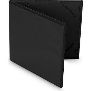 Obrázok pre výrobcu Box na 1 CD, alebo DVD medium. 5,2mm slim, čierny PP