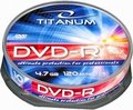 Obrázok pre výrobcu Esperanza DVD-R TITANUM [ cake box 10 | 4.7GB | 16x ]
