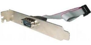 Obrázok pre výrobcu Gembird vývod RS232 (serial port) z MB na záslepku skrine, kábel 25cm, bulk