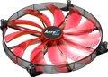 Obrázok pre výrobcu AEROCOOL SILENT MASTER RED LED ventilátor 200x200x20mm