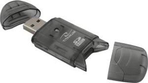 Obrázok pre výrobcu Titanum TA101K Čítačka kariet SDHC/MiniSDHC/MicroSDHC/RS/MM USB 2.0, čierna