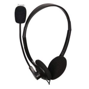 Obrázok pre výrobcu Gembird sluchátka MHS-123, s mikrofonem, černá