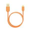 Obrázok pre výrobcu AXAGON HQ Kabel Micro USB, 2A, oranžový, 0.2 m