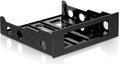 """Obrázok pre výrobcu Delock montážny rámček pre 3.5"""" HDD do 5.25"""" šachty, plast, čierny"""