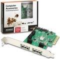 Obrázok pre výrobcu AXAGO PCIe 2-Lane řadič 4x int./2x ext. SATA 6G HD