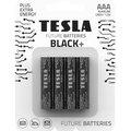 Obrázok pre výrobcu TESLA BLACK+ alkalická baterie AAA (LR03, mikrotužková, blister) 4 ks