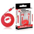 Obrázok pre výrobcu GT kábel USB/micro USB 1m červený