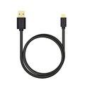 Obrázok pre výrobcu AXAGON BUMM-AM02QB, HQ kabel Micro USB <-> USB-A, 0.2m, 2A, černý