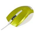 Obrázok pre výrobcu E-Blue Myš Dynamic, optická, 3tl., 1 koliesko, drôtová (USB), zelená, 1480dpi