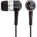 Obrázok pre výrobcu Esperanza EH128 Stereo slúchadlá do uší, čierno-strieborné