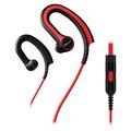 Obrázok pre výrobcu Pioneer závěsná sluchátka s ovládáním červená